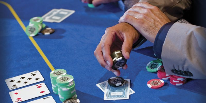 It's not as addicting as the physical poker games but its very fun.